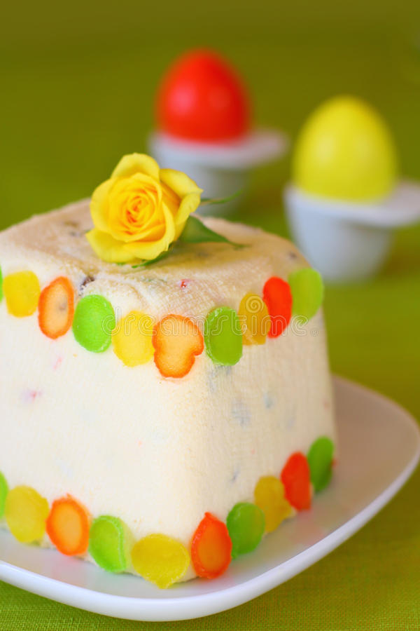 Download Easter Cottage Cheese Dessert Stock Photo - Image: 12623372