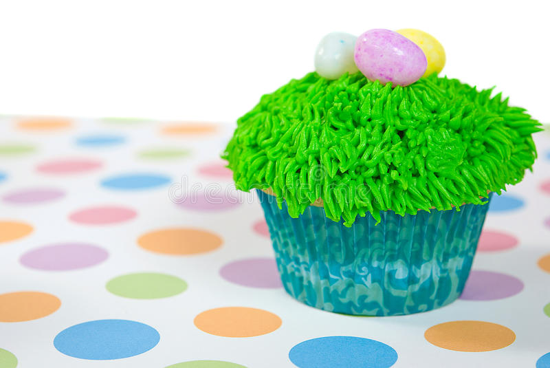 Download Easter Cupcake with eggs stock image. Image of easter - 26185127