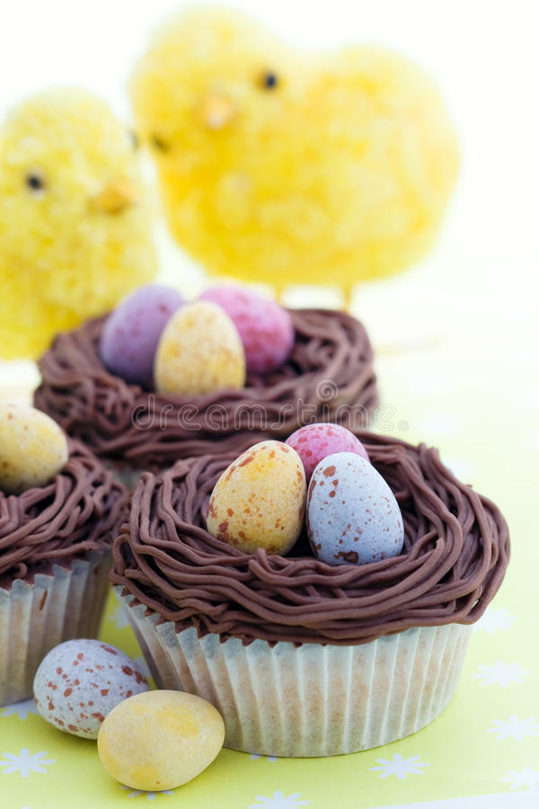 Download Easter cupcakes stock photo. Image of kids, birds, fairy - 12831006
