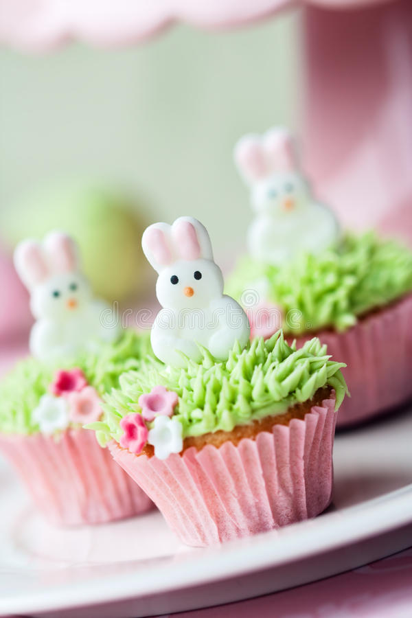 Download Easter cupcakes stock image. Image of decorated, bunnies - 18790937