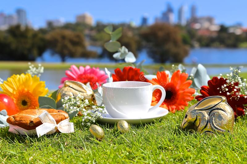 Easter Day. Celebrating Easter Day in Australia royalty free stock photo