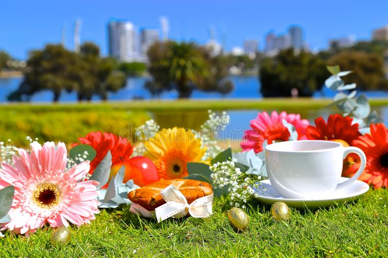 Easter Day. Celebrating Easter Day in Australia stock photo