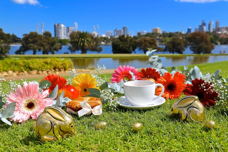 Easter Day. Celebrating Easter Day in Australia stock photography