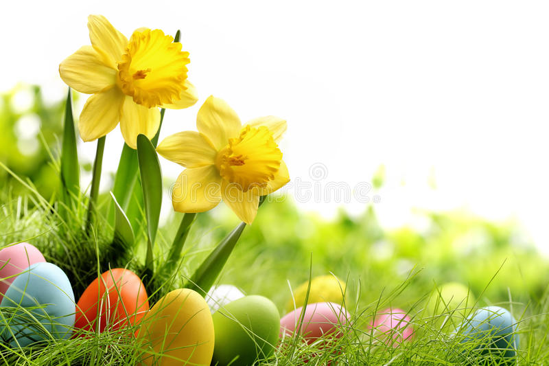 Download Easter day stock image. Image of holiday, eggs, closeup - 38767439