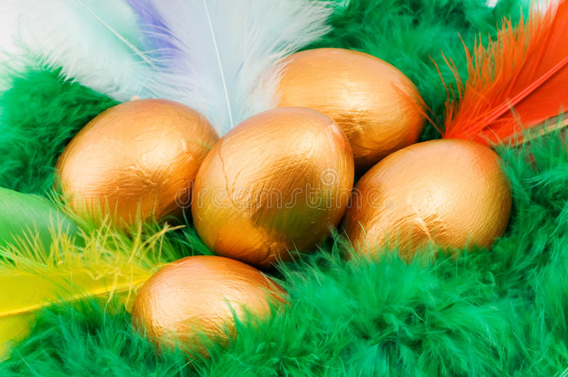 Easter decorative composition royalty free stock photos