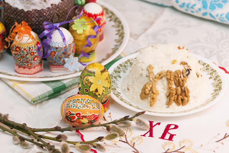 Easter And Eeggs Royalty Free Stock Photos