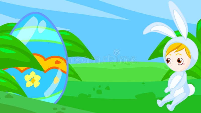Download Easter egg stock illustration. Image of cute, found, colorful - 17458755