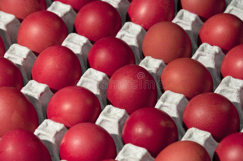 Easter Egg. This is the process of Easter eggs royalty free stock photo