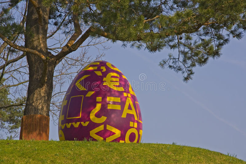 Easter egg 2 royalty free stock photography