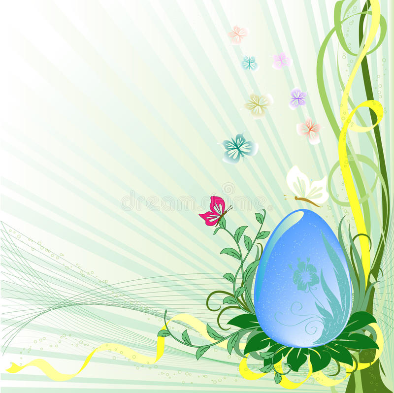 Easter Egg royalty free illustration