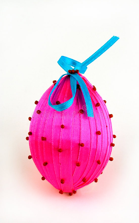 Easter egg. On a light background royalty free stock photos