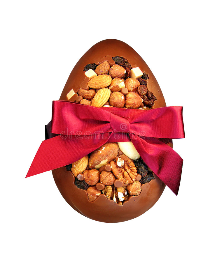 Download Easter egg stock photo. Image of nuts, isolated, present - 2252754