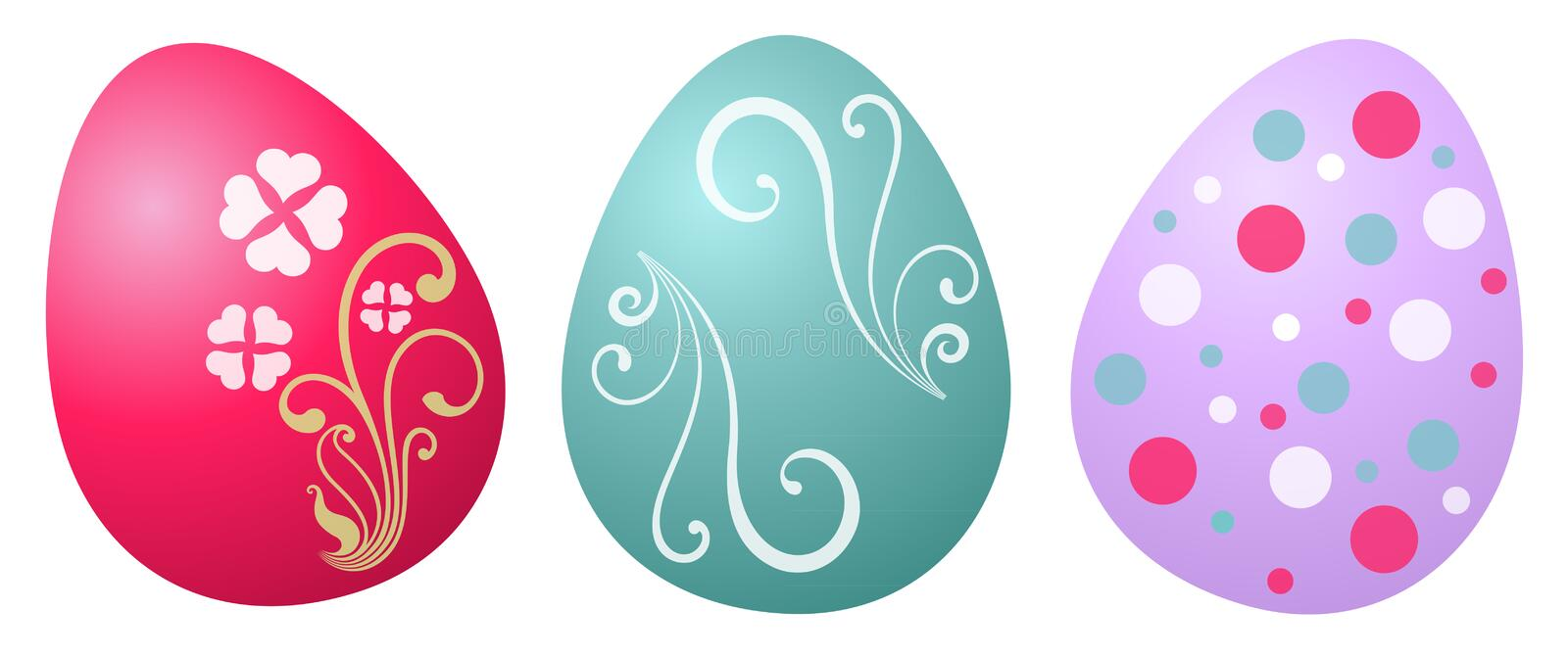 Download Easter egg stock vector. Image of food, design, celebration - 23437636