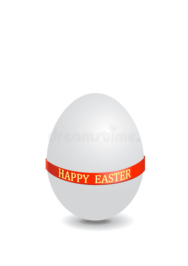 Easter egg stock illustration