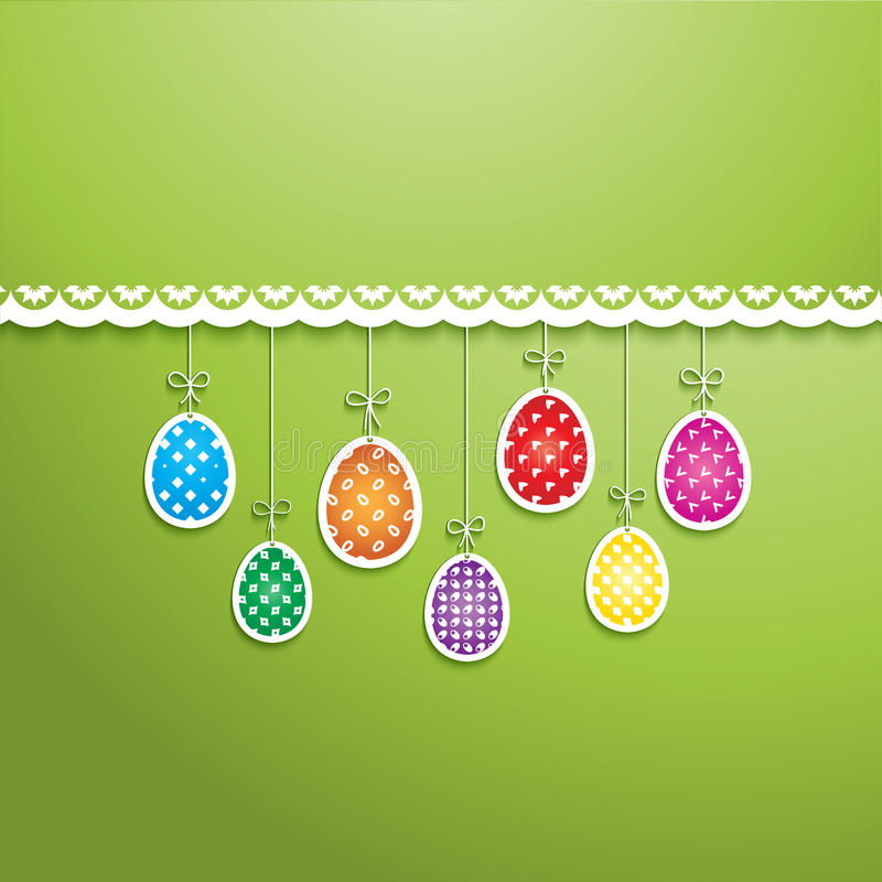 Download Easter egg background stock vector. Image of cute, background - 29686701