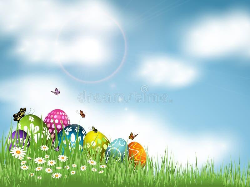 Download Easter Egg background stock vector. Image of background - 29686873