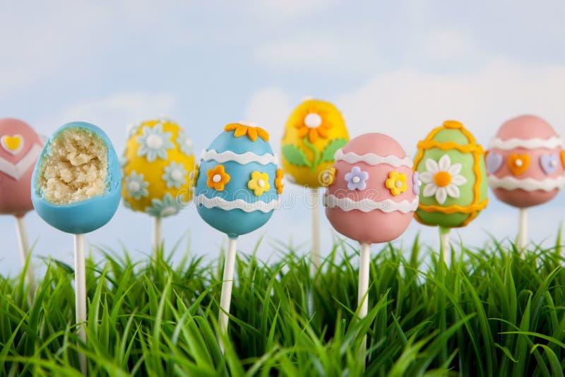 Download Easter egg cake pops stock image. Image of flower, bite - 23051975