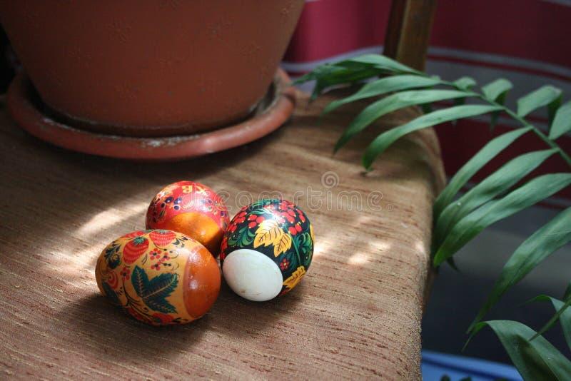 Easter egg cake pops stock photography