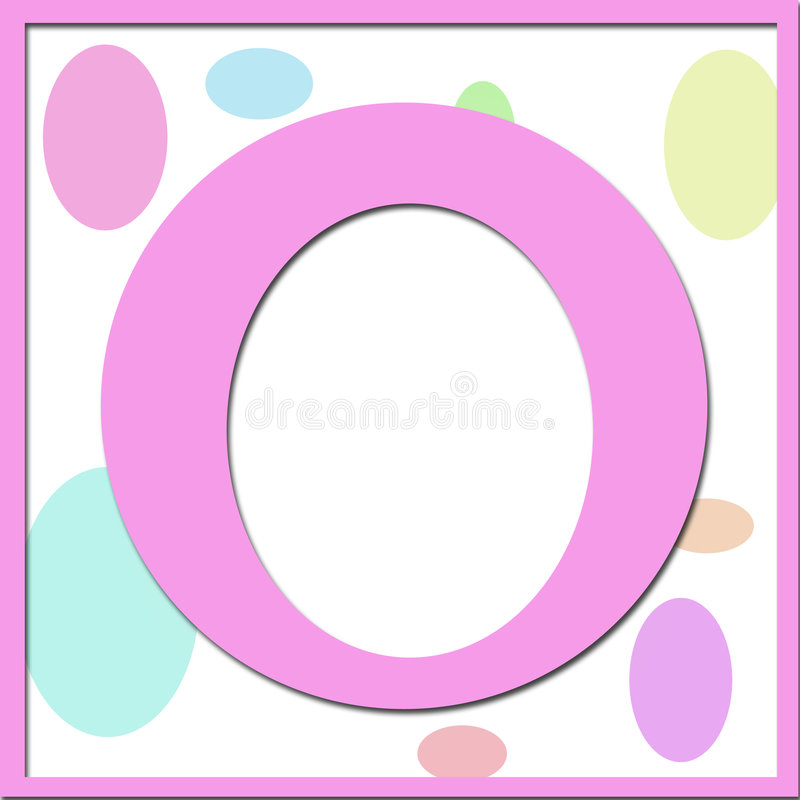 Download Easter Egg Or Candy Bean Frame Stock Photo - Image: 4372950