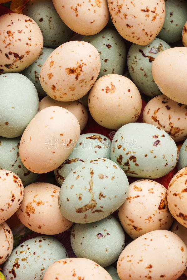 Easter Egg close up. Colorful Holiday eggs stock image
