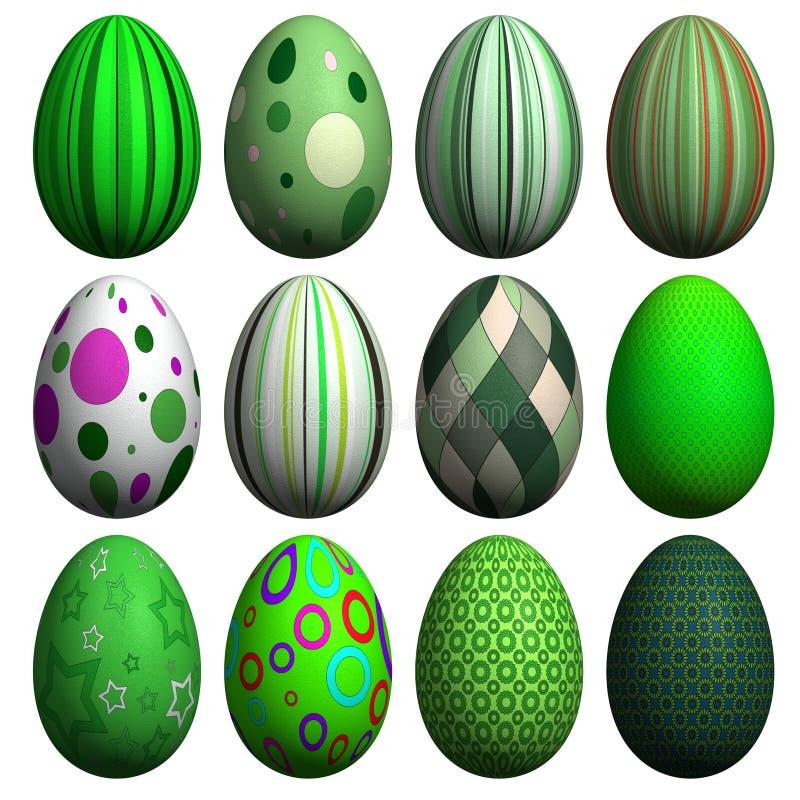 Download Easter Egg Collection stock illustration. Illustration of shape - 8607280