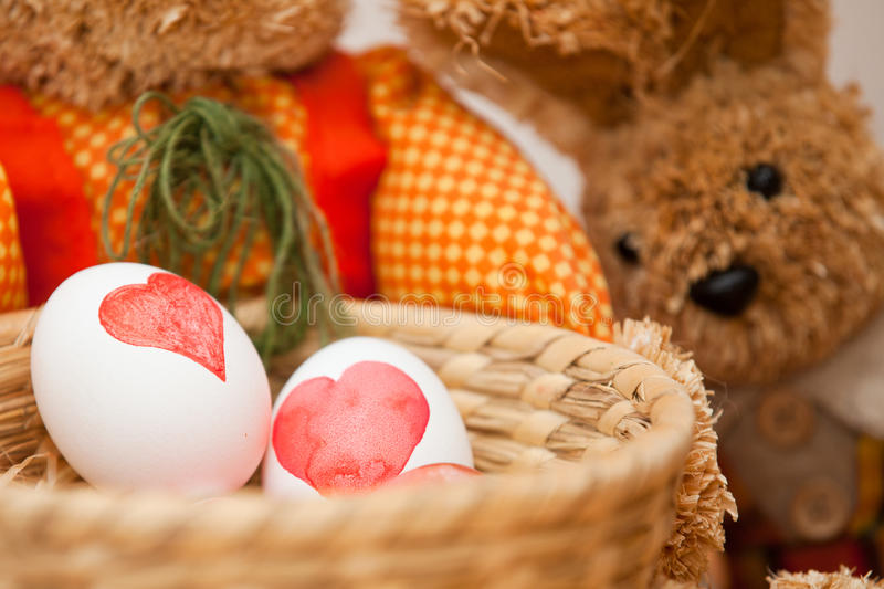 Download Easter Egg Dyeing stock image. Image of close, eggs, girl - 28877313