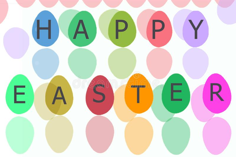 Easter Egg for easter holiday with white isolate royalty free stock images
