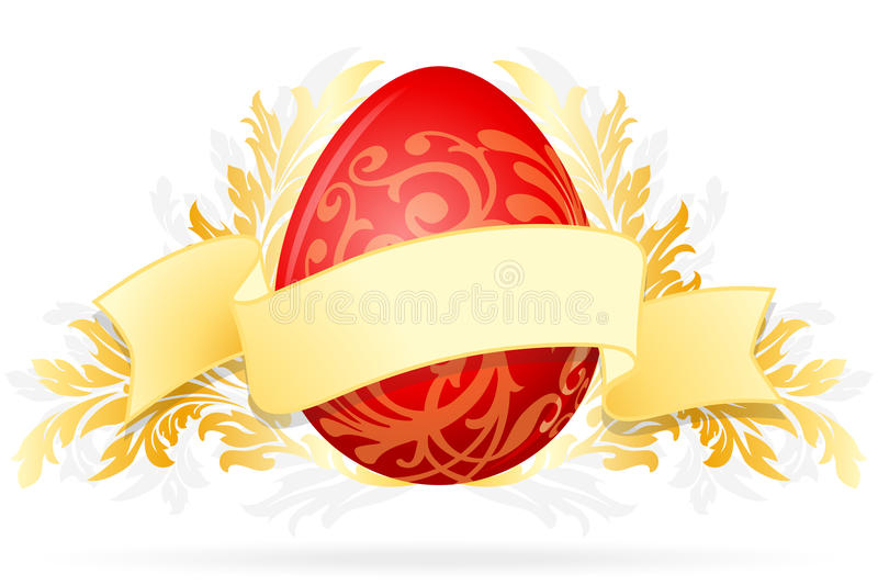 Download Easter Egg With Floral Decoration Stock Photography - Image: 23558112