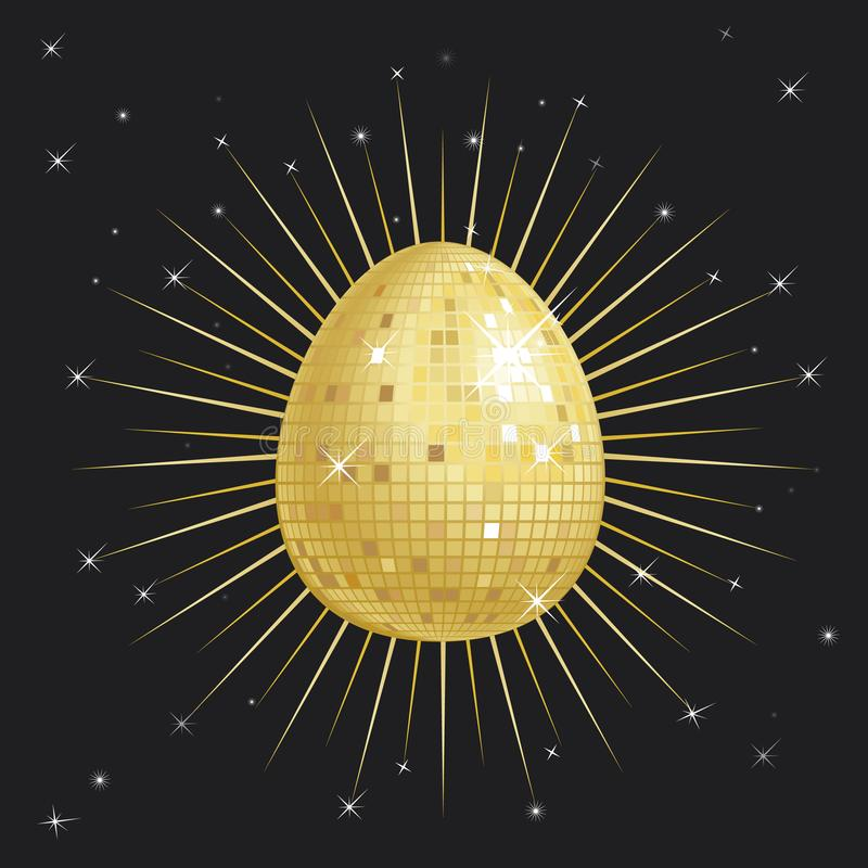 Download Easter egg Glitter Ball stock illustration. Illustration of shiny - 8400850