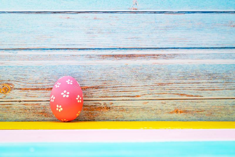 Easter egg, happy Easter sunday hunt holiday decorations royalty free stock photography