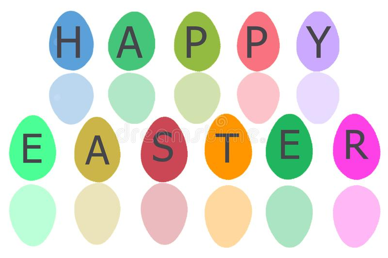 Easter Egg for easter holiday with white isolate stock photos