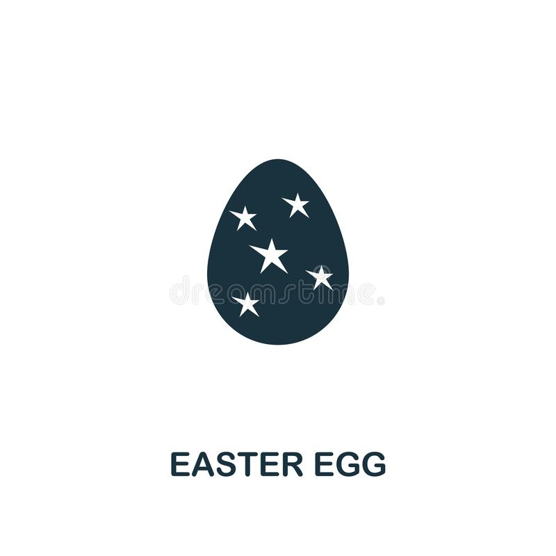 Easter Egg icon. Creative element design from easter icons collection. Pixel perfect Easter Egg icon for web design vector illustration