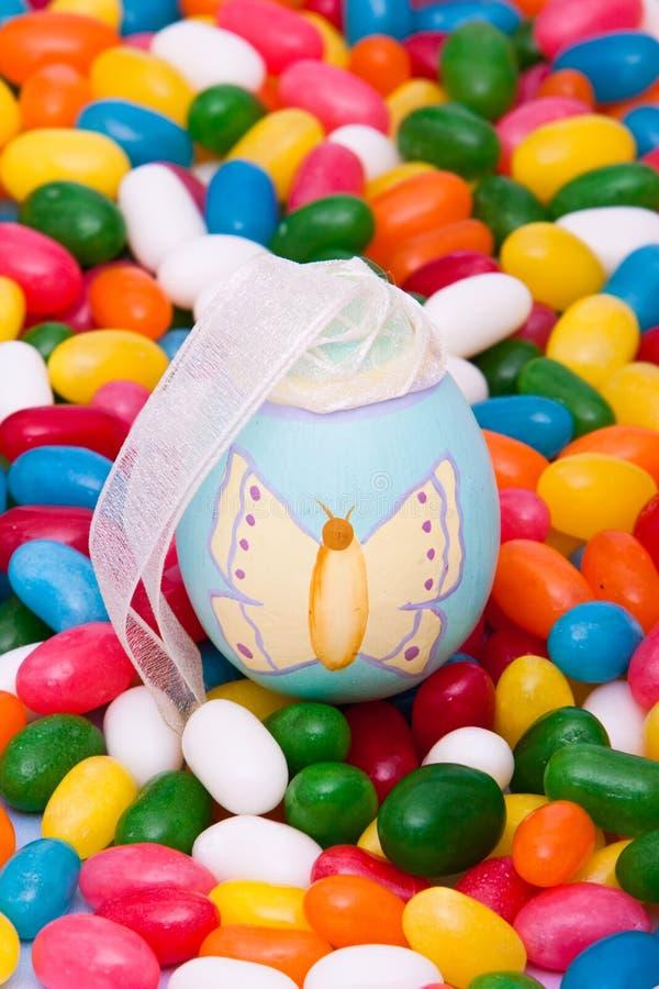 Easter egg on jellybeans
