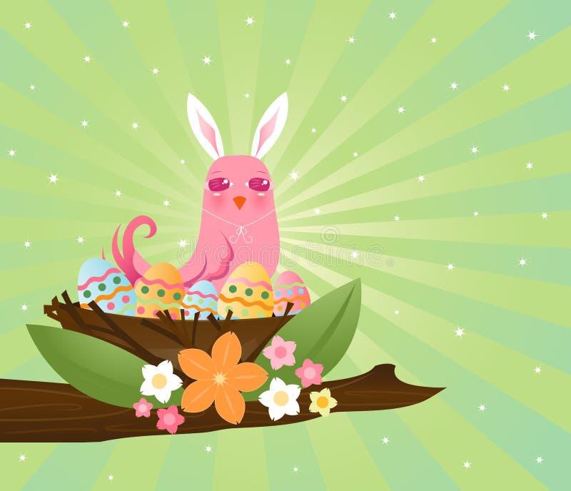 Download Easter Egg Nester stock illustration. Image of decorated - 1717528