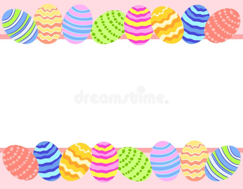 Download Easter Egg Photo Background Border Stock Illustration - Image: 4008668