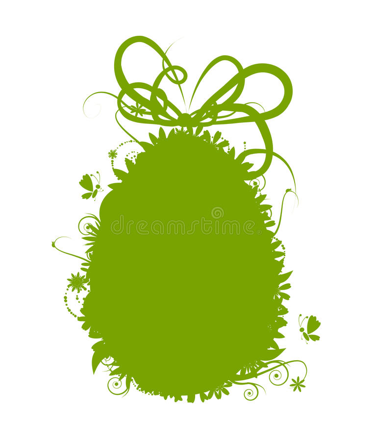 Download Easter Egg With Ribbon Stock Images - Image: 12840464