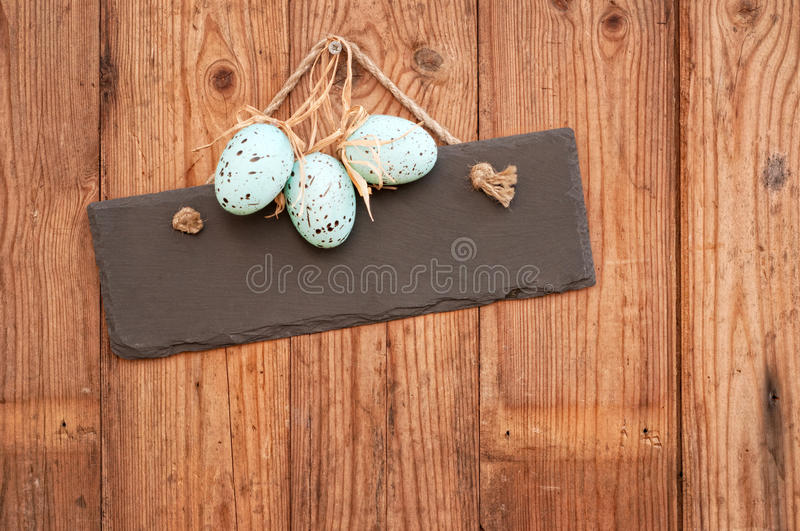 Easter Egg Sign stock images