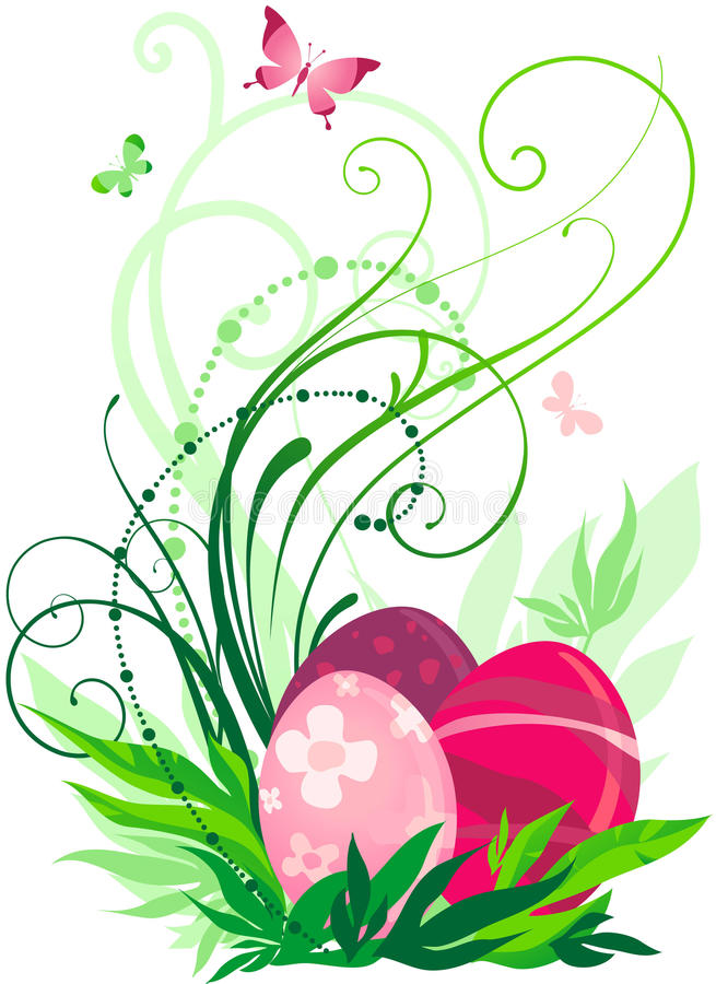 Download Easter eggs stock vector. Illustration of elegance, celebration - 12544248