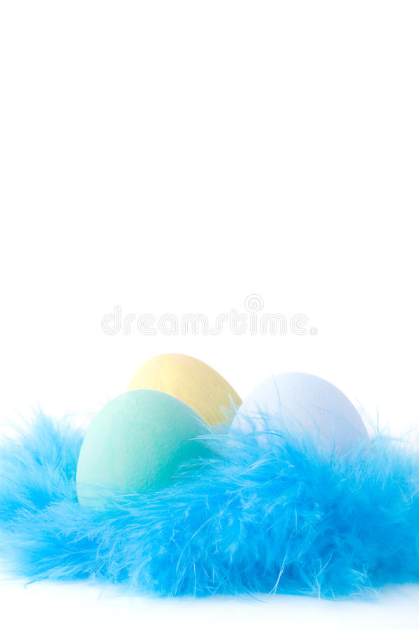 Download Easter eggs stock photo. Image of textile, artificial - 12710338