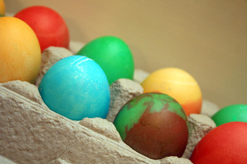 Download Easter Eggs stock photo. Image of yellow, holiday, colors - 12774864