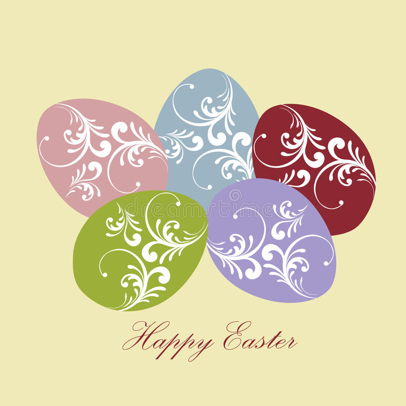 Download Easter eggs stock vector. Image of group, easter, pastel - 13309932
