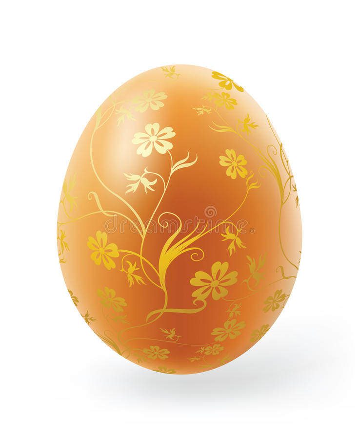 Download Easter eggs stock vector. Illustration of icon, lilly - 13351702