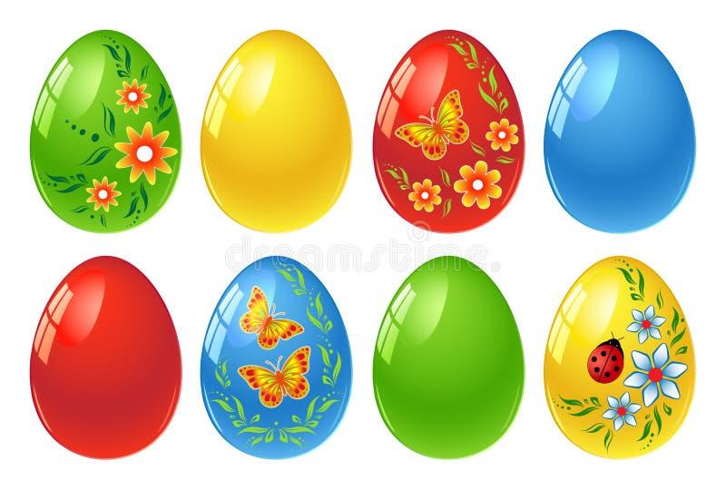 Easter eggs stock illustration