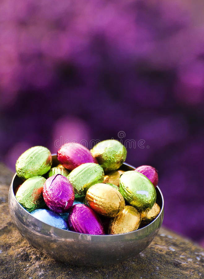 Download Easter eggs stock image. Image of eatable, chocolate - 19369987