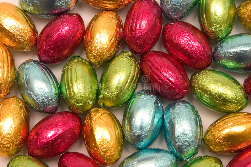 Download Easter eggs stock image. Image of chocolates, many, assorted - 2073261