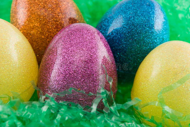 Download Easter eggs stock image. Image of magenta, eggs, blue - 2084541