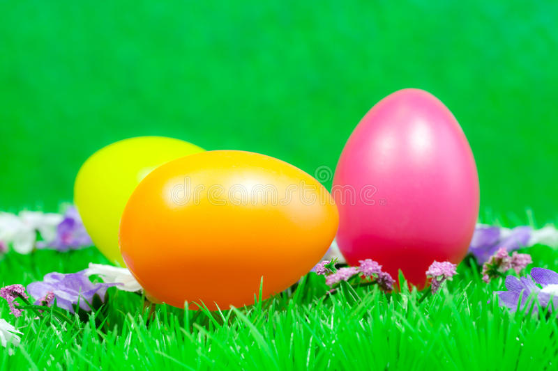Download Easter eggs stock image. Image of fluffy, fresh, color - 23598619