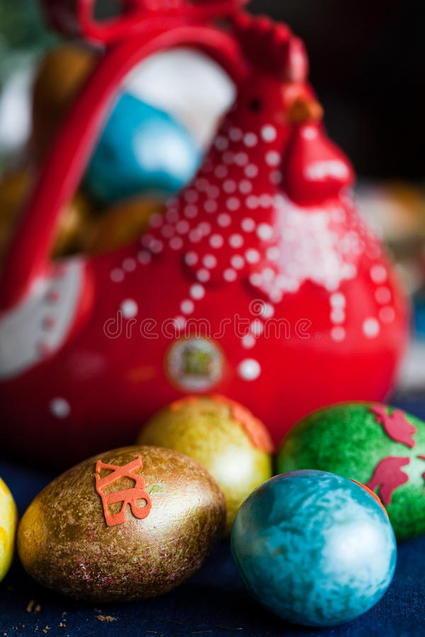Download Easter eggs stock image. Image of chicken, nobody, celebrate - 25919189