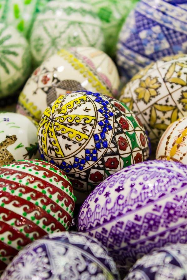 Download Easter eggs stock image. Image of seasonal, folk, texture - 28382561