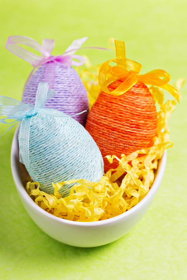 Download Easter eggs stock image. Image of dyed, nobody, blue - 28652275